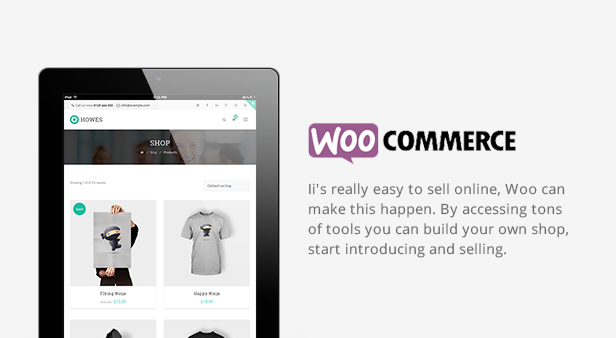 Howes WordPress Theme